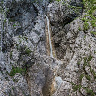 Martuljški waterfalls